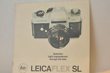 Leica Flex SL Camera Dealers brochure