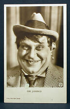 Emil Jannings - Actor Movie Photo - Foto Autogramm-Karte AK (Lot-Z-2079)