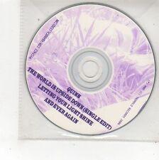 (FS105) Quinn, The World is Upside Down - 2006 DJ CD