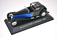 Voiture modèle réduit collection 1/43ème Bugatti type 41 Royale de 1929