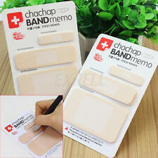 2x Memo Pad Band-aid Design Note Paper Diary Notes Planner Bookmarker Scrapbook