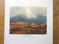 Golf Course Print NEWCASTLE CO. DOWN Facsimile Of Original1910 Painting