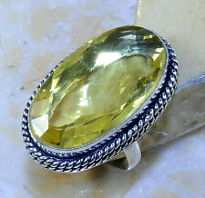 CITRINE RING SIZE 8 1/4; M7802