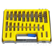 New 150Pcs 0.4-3.2mm Mini Micro Power High Speed Steel Drill Bit  Twist Kits Set