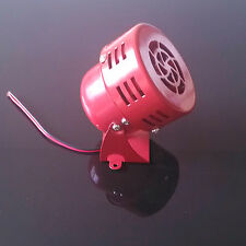 Car Truck Air Driven Raid Horn Sound Alarm Loud Fire Security Rescue 50s Type