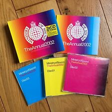 Ministry Of Sound - The Annual 2002 (Limited Edition 3 CD Album Box Set) EX cond