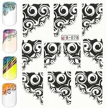 Nail Art Water Transfer Stickers-Decals FRENCH per Ricostruzione Unghie Manicure