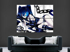 BLACK ROCK SHOOTER MANGA  ART WALL LARGE IMAGE GIANT POSTER PRINT
