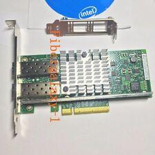 New Original INTEL Ethernet Server Adapter 10 Gbps Dual Port X520-DA2 E10G42BTDA