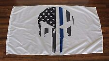 Punisher Skull Subdued Police Thin Blue Line American Flag Seal Chris Kyle LEO W