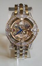 Men's Iced Out Hip Hop Bling Lab Diamonds Luxury Dress Raper style Fashion Watch