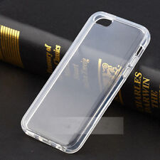 For iPhone 5C New Clear Transparent Crystal Soft TPU Silicone Cover Case Skin