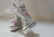 Custom Lace Platfrom Sneakers For Blythe/Pullip/Monster High/Lalaloopsy - B3_366
