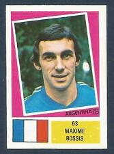 FKS 1978-ARGENTINA 78 -#063-FRANCE-MAXIME BOSSIS