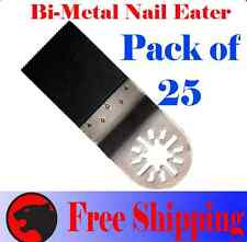 25 Pcs Nail Eater Oscillating Multi Tool Saw Blade Craftsman Milwaukee Ridgid