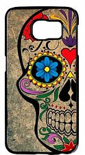 Sugar Skull Skeleton Mexican Day New Rubber Cover Case For Samsung Galaxy Note 5