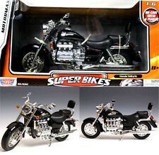 HONDA VALKYRIE BLACK 1:6 MOTORCYCLE MODEL BY MOTORMAX 76252 BLACK