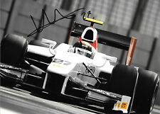 Davide Valsecchi SIGNED GP2 Team Air Asia,2011, GP2 Champion 2012