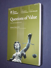 Teaching Co Great Courses  DVDs             QUESTIONS OF VALUE   new & sealed