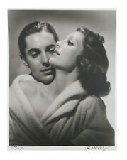 Loretta Young and Tyrone Power by George Hurrell Signed Photo Print LE of 190