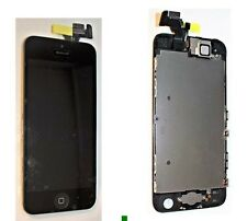 iPhone 5S Black LCD Screen Complete - With Parts Prefitted Apple