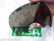 MSA Tinted/Smoke Lens Outsert -For Millennium CBRN Gas Mask, Size: M/L 10008908