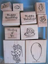 STAMPIN' UP CONTEMPORARY COLLECTION ANGEL Thinking of You Happy Holiday Birthday
