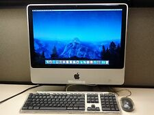 "20"" Apple iMac All-in-One Computer 2.0 GHz 4GB 160GB 10.11 A1224 EMC 2266 2009"