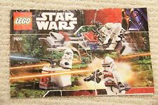 Lego 7655 Manual Only -  Star Wars