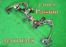 LADIES  MATHEWS PASSION COMPOUND BOW  RH 45-60* SHIP WORLD WIDE*