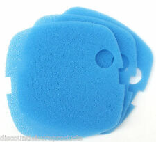 Pack Of 3 Sun Sun HW-302 External Aquarium Filter Media Blue Foam Sponge Pads