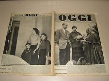 OGGI=1955/10=SAVOIA=SVETLANA STALIN=ISOLA MADERA=COSSATO BIELLESE=DE CHIRICO=