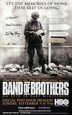 Hand signed by 4 Band of Brothers! Autographed Poster (#5 in series of 6)