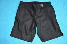 AUTOGRAPH Casual SHORTS Natural BLACK 100% Linen. Size 20 NEW NWT rrp$49.95