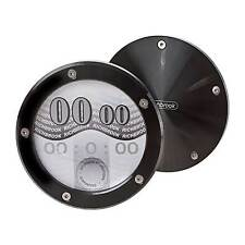 Richbrook Twist Off Tax Disc Holder In Black Anodised
