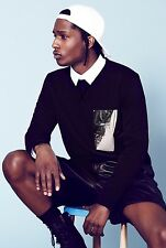 "ASAP ROCKY Music Star Silk Cloth Poster 36 x 24"" Decor 50"