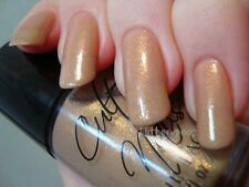 NEW! CULT NAILS Nail Polish Lacquer in MAZO ~ Graceful Sheer Nude Gold Shimmer