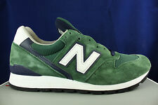 NEW BALANCE 996 MADE IN USA HERITAGE DARK GREEN NAVY WHITE M996CSL SZ 9.5