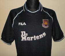 WEST HAM UNITED FC London 1999 Vintage FILA 3rd Shirt Jersey Trikot Dr. Martens