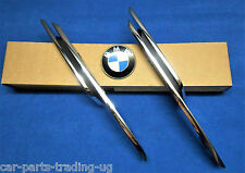 BMW F30 320d Bumper NEW Cover Strip Trim Chrome Fog Light Set front left right