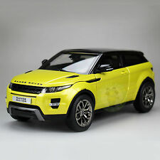 1:18 Land Rover Range Rover Evoque Diecast Car Suv Model Welly GTAUTOS GTA 11003