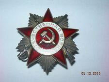 UdSSR Orden Großer Vaterländischer Krieg 2. Kl Super ! Silber