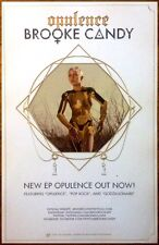 BROOKE CANDY Opulence 2014 Ltd Ed RARE New Poster +FREE Dance Pop Rock Poster!