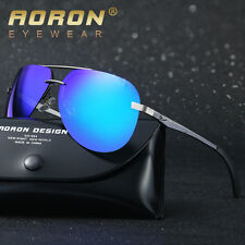 Mens-Aluminium-POLARIZED-Sunglasses-Outdoor-Sports-Eyewear-HD-Driving-Glasses