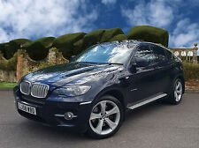 BMW X6 3.0 xDrive35d 5dr, SUNROOF + HEAD UP + SAT NAV with CREAM LEATHER