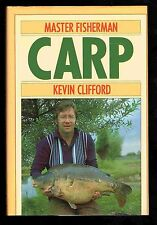 MASTER FISHERMAN CARP by Kevin Clifford 1st edition 1989 hardback NEW CONDITION!