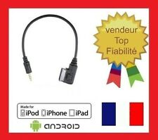 Cable auxiliaire jack mp3 AMI MDI mercedes media interface classe S