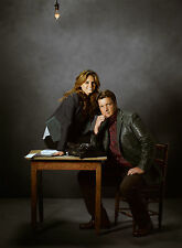 PHOTO NATHAN FILLION  ET STANA KATIC  (CASTLE) - 11X15 CM #7