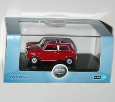 Oxford Diecast - Austin MINI (Red + Union Jack Roof) - Model Scale 1:43