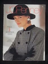 JCPenney 1990 Fall & Winter CATALOG 1455 pgs. Fashion HOME Electronics ETC vtg